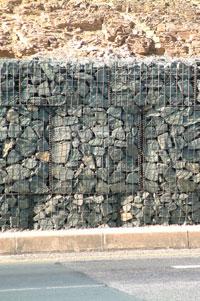 Erosion Control - Gabions Installation California